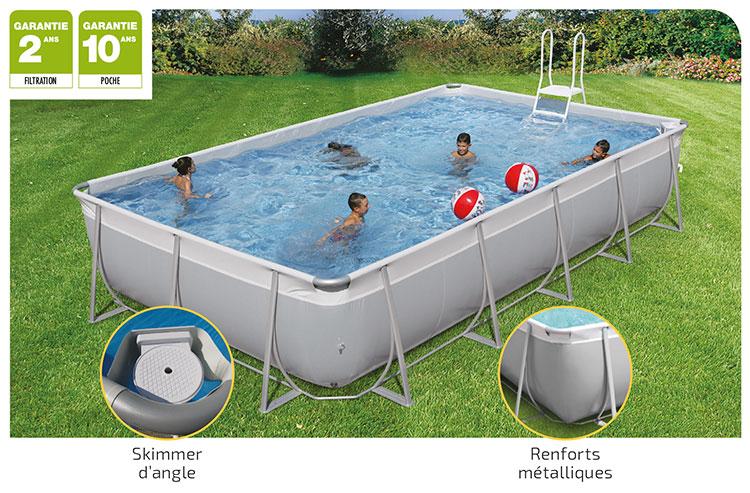 Kit easy la piscine hors sol o 39 zen piscine for Kit accessoire piscine hors sol