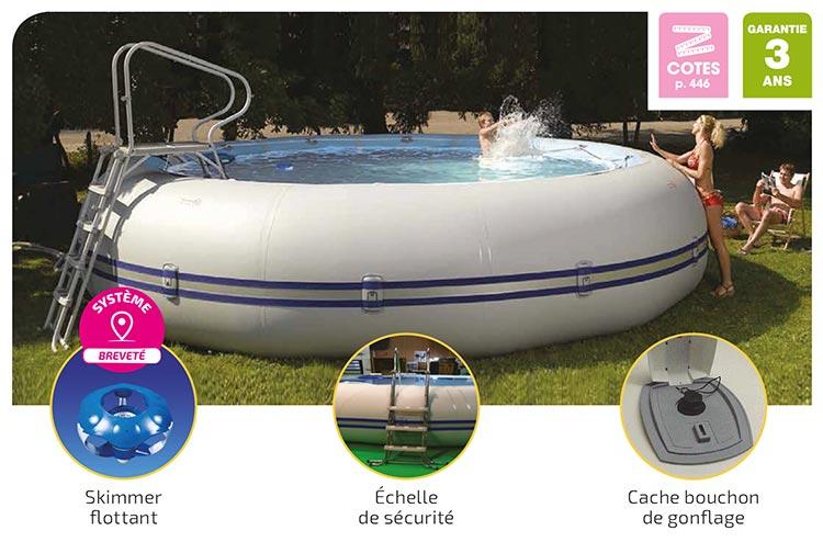 zodiac original la piscine hors sol o 39 zen piscine. Black Bedroom Furniture Sets. Home Design Ideas