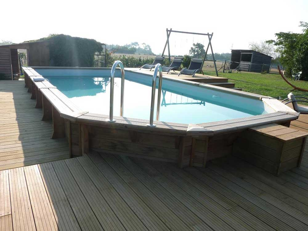 piscine coque hors sol cheap il est recommand dtayer une piscine coque avant la vidange with. Black Bedroom Furniture Sets. Home Design Ideas
